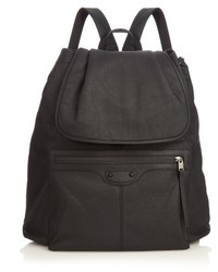 Balenciaga Arena Rubberised Leather Backpack