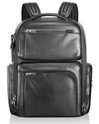 Arrive bradley calfskin leather backpack black medium 681743