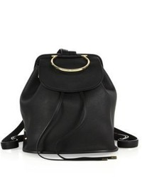 Salvatore Ferragamo Betta Gancio Bracelet Leather Backpack