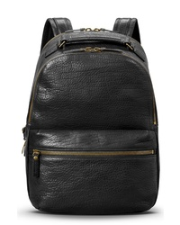 Shinola Bison Runwell Leather Backpack