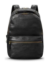 Shinola Bison Runwell Leather Backpack