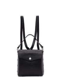 Rag and Bone Black Leather Atlas Backpack