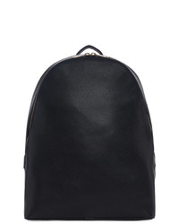 Paul Smith Black Leather Backpack