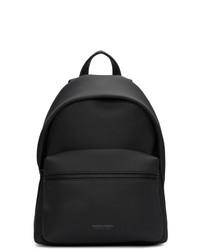 Bottega Veneta Black Matte Medium Backpack