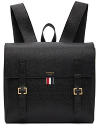 Thom Browne Black Rwb Structured Backpack