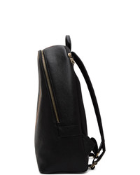 Paul Smith Black Signature Stripe Backpack