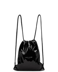 Saint Laurent Black Teddy Backpack
