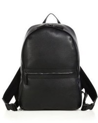 Saks Fifth Avenue Collection Tumbled Leather Backpack