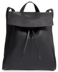 Skagen Ebba Leather Backpack Black