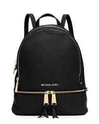 MICHAEL Michael Kors Extra Small Rhea Zip Leather Backpack