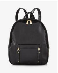 Express Faux Leather Backpack