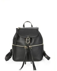 Salvatore Ferragamo Ganciorama Carol Leather Medium Backpack
