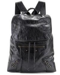 Balenciaga Giant Traveller Leather Backpack
