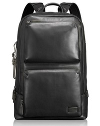 Harrison bates leather backpack black medium 681744