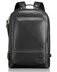 Tumi Harrison Bates Leather Backpack Black