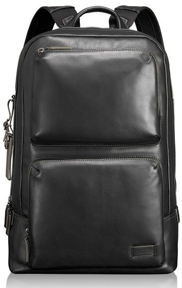 Tumi Harrison Bates Leather Backpack   Where to buy   how to wear 0a17972ee9b