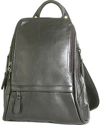 Latico Leathers Latico Basics Apollo Backpack Medium L0839 Black Leather Casual Handbags