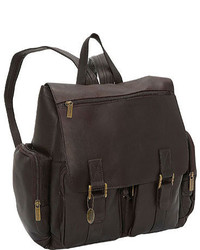 David King Leather 327 Laptop Backpack