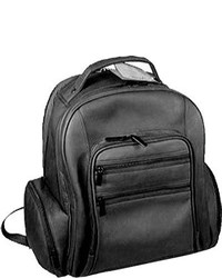 David King Leather 349 Oversize Laptop Backpack