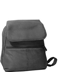 David King Leather 351 Organizer Backpack