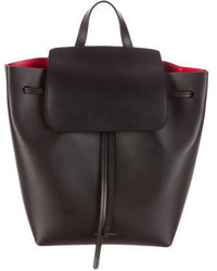Mansur Gavriel Leather Backpack