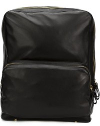 Leather backpack medium 681698