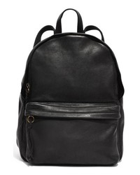 Madewell Lorimer Leather Backpack Black