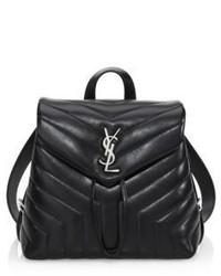 Saint Laurent Lou Lou Matelasse Leather Backpack