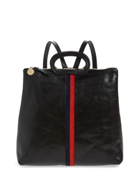 Clare V. Marcelle Leather Backpack