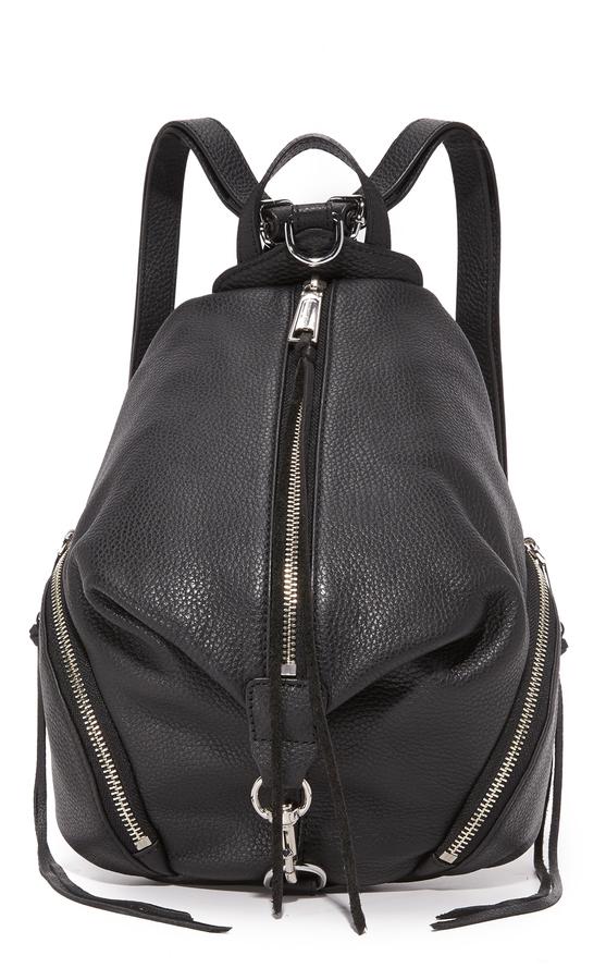 0551a3b422 ... Leather Backpacks Rebecca Minkoff Medium Julian Backpack ...
