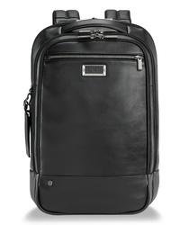 Briggs & Riley Medium Leather Rfid Pocket Laptop Backpack