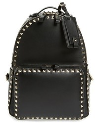 Valentino Medium Rockstud Leather Backpack