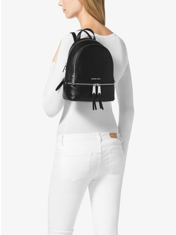 0b5e28cc420c Michael Kors Michl Kors Rhea Extra Small Leather Backpack, $258 | Michael  Kors | Lookastic.com