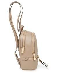 add8b096a3d4 ... MICHAEL Michael Kors Michl Michl Kors Extra Small Rhea Zip Leather  Backpack ...
