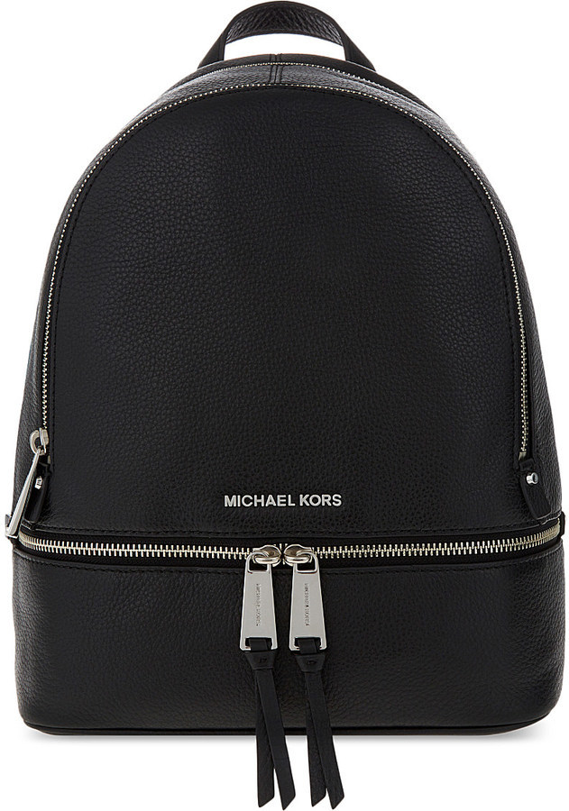 b21f1a42822f ... MICHAEL Michael Kors Michl Michl Kors Rhea Medium Leather Backpack ...