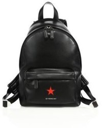 Givenchy Mini Leather Star Backpack