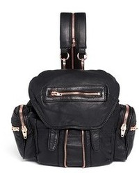 Alexander Wang Mini Marti Washed Lambskin Leather Three Way Backpack