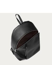 75d40e72db5b ... Bally Montey Medium Leather Backpack In Black