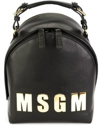 MSGM Logo Plaque Backpack