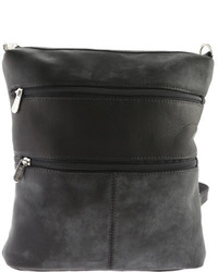 Piel Leather Convertible Multi Pocket Shoulder Bagbackpack 305