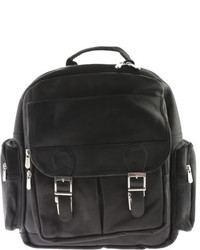 Piel Leather Ultimate Travelers Laptop Backpack 3049