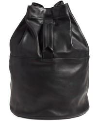 Rag & Bone Walker Leather Backpack Black