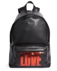Givenchy Small Love Leather Backpack