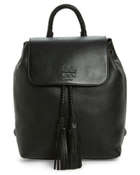 Tory Burch Taylor Leather Backpack Black