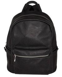 Urban Originals Lola Perforated Backpack Black