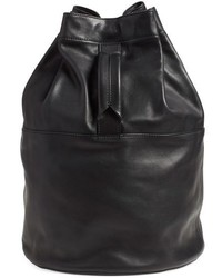 Walker leather backpack black medium 518155