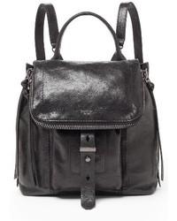 Botkier Warren Leather Backpack Black