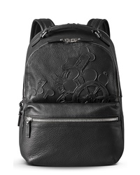 Shinola X Disney Runwell Leather Backpack
