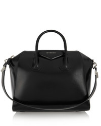 Givenchy Antigona Medium Leather Tote Black