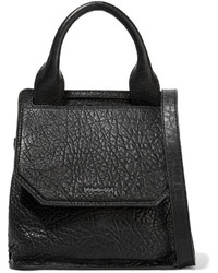 McQ by Alexander McQueen Mcq Alexander Mcqueen Ruin Mini Textured Leather Shoulder Bag